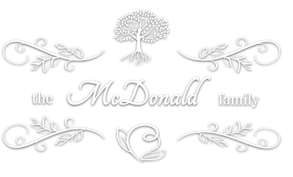mcdonald family history logo