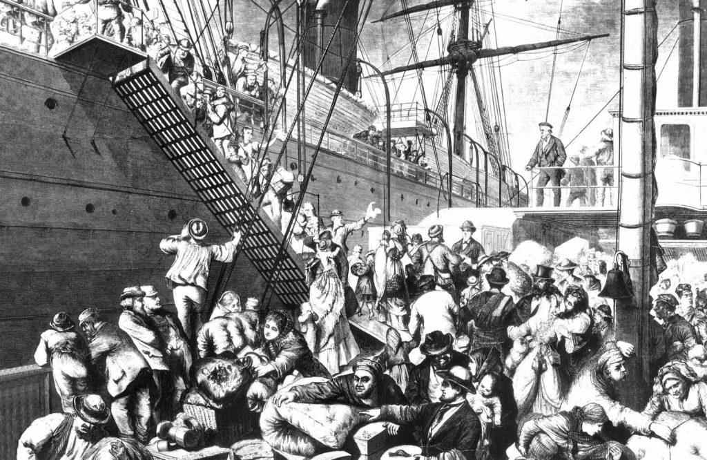 emigrant ships